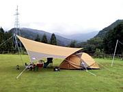 富山でキャンプ愛しています