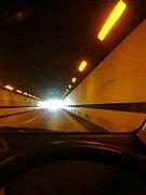 トンネルを抜けた景色にわくわく