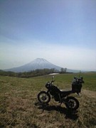 羊蹄山麓のバイク馬鹿