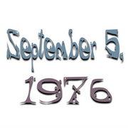 1976年9月5日生まれ