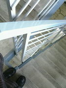 階段を下りる時下を見ないと駄目