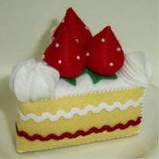 フェルトのケーキやさん