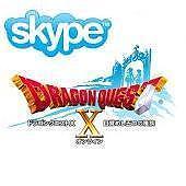 SkypeでドラクエX