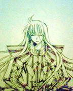 乙女座の黄金聖闘士 アスミタ