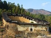 中国・福建省の土堡。