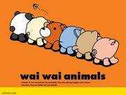 wai wai animals fan