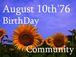 1976年8月10日生まれ