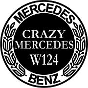 CRAZY MERCEDES W124