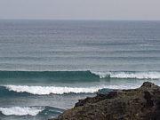 山口県川尻の波
