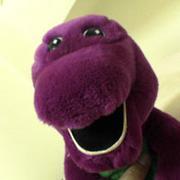 Barney is a dinosaur