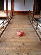 京都巡りとお座布団
