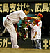 最後の広島市民球場で、野球!