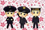 自衛隊の制服が好きです♪