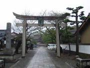 網野神社で真夜中に缶蹴りする会