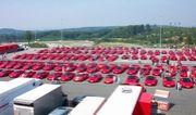 赤い車大集合!