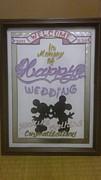 Weddingボード☆