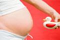 妊婦マタニティ写真。女性の写真