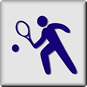 湖東でテニス