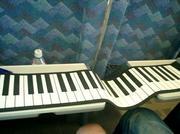 ハンドロールピアノ。