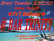 Salsa Party @ Bar TRINITY