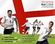イングランド代表!