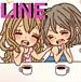 (・ω・`* LINE♡女友達