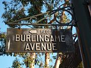 Cafe Burlingame Ave.