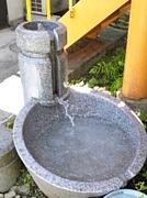 静岡県東部で水汲み
