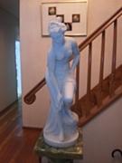 山口家のツボまたは銅像