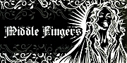 middle fingers