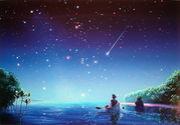 天体観測 in夜空