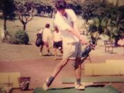 ゴルフ一筋