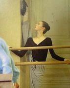 バレエのレッスン風景が好き