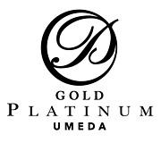 GOLD PLATINUM UMEDA