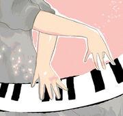 ピアノを弾く男の人