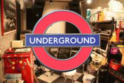 地下スタジオ!