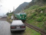 鉄道好きには不向きな車に乗る人