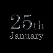 1月25日生まれ