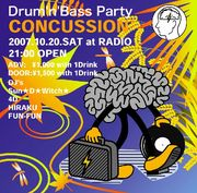 CONCUSSION -Drum'n'Bass Party-