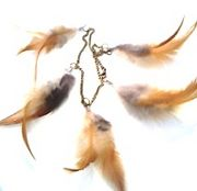 羽飾り、羽根モノが好き