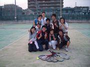 エントランス内テニス部