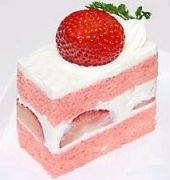 ショートケーキをイチゴから喰う