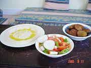 パレスチナ/アルジェリア料理を