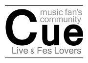 Cue(Live&Fes Lovers)