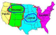 アメリカ中部・山岳部在住