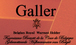 Galler chocolate
