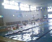 水中運動を楽しみましょう