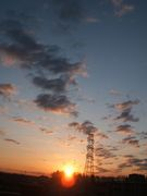 太陽のある風景