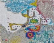 サンドアート 砂で絵を描く