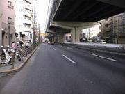 高速道路の裏側